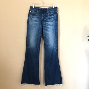 Ag Adriano Goldschmied Jeans - Adriano Goldschmied Quinne High-Rise Flare Jeans